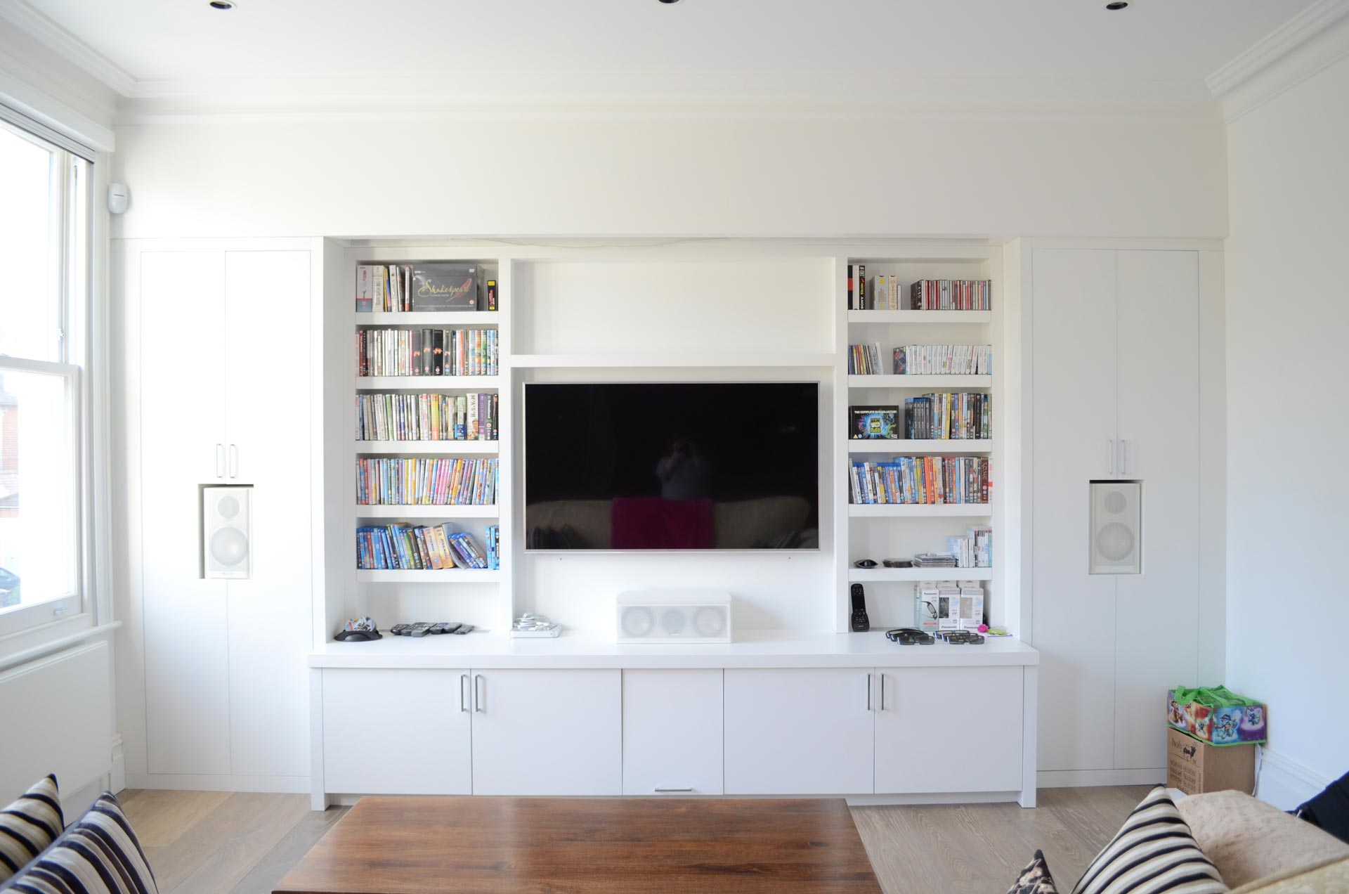 Cinema Room with speakers