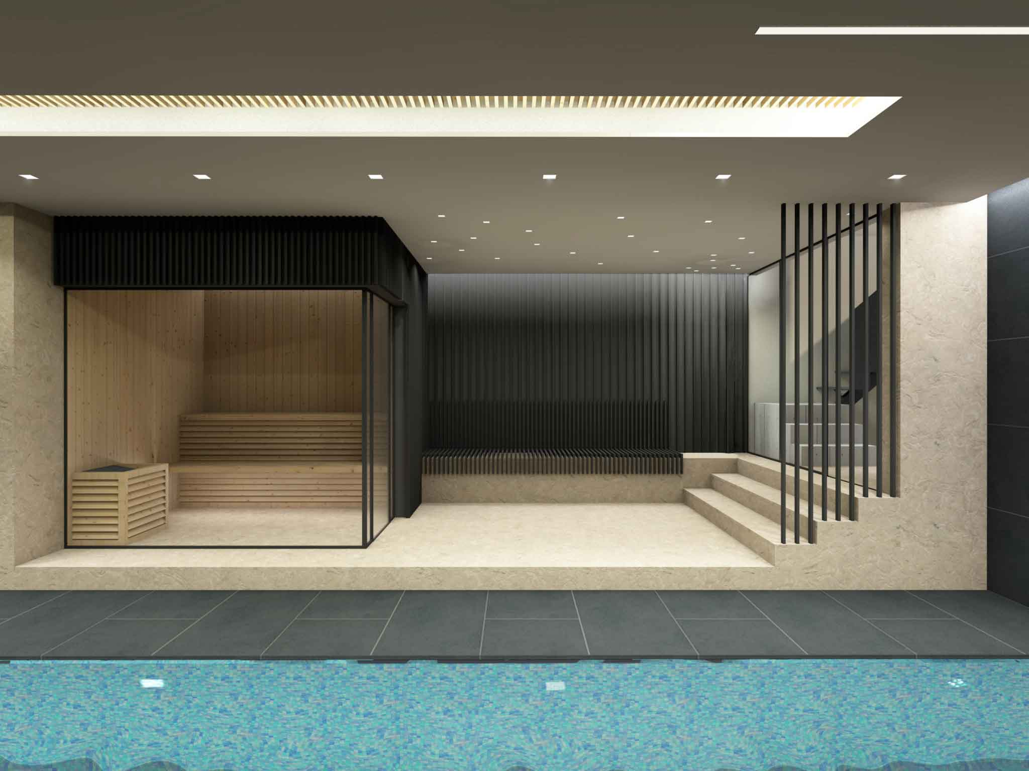 Concept design for an 18metre long pool