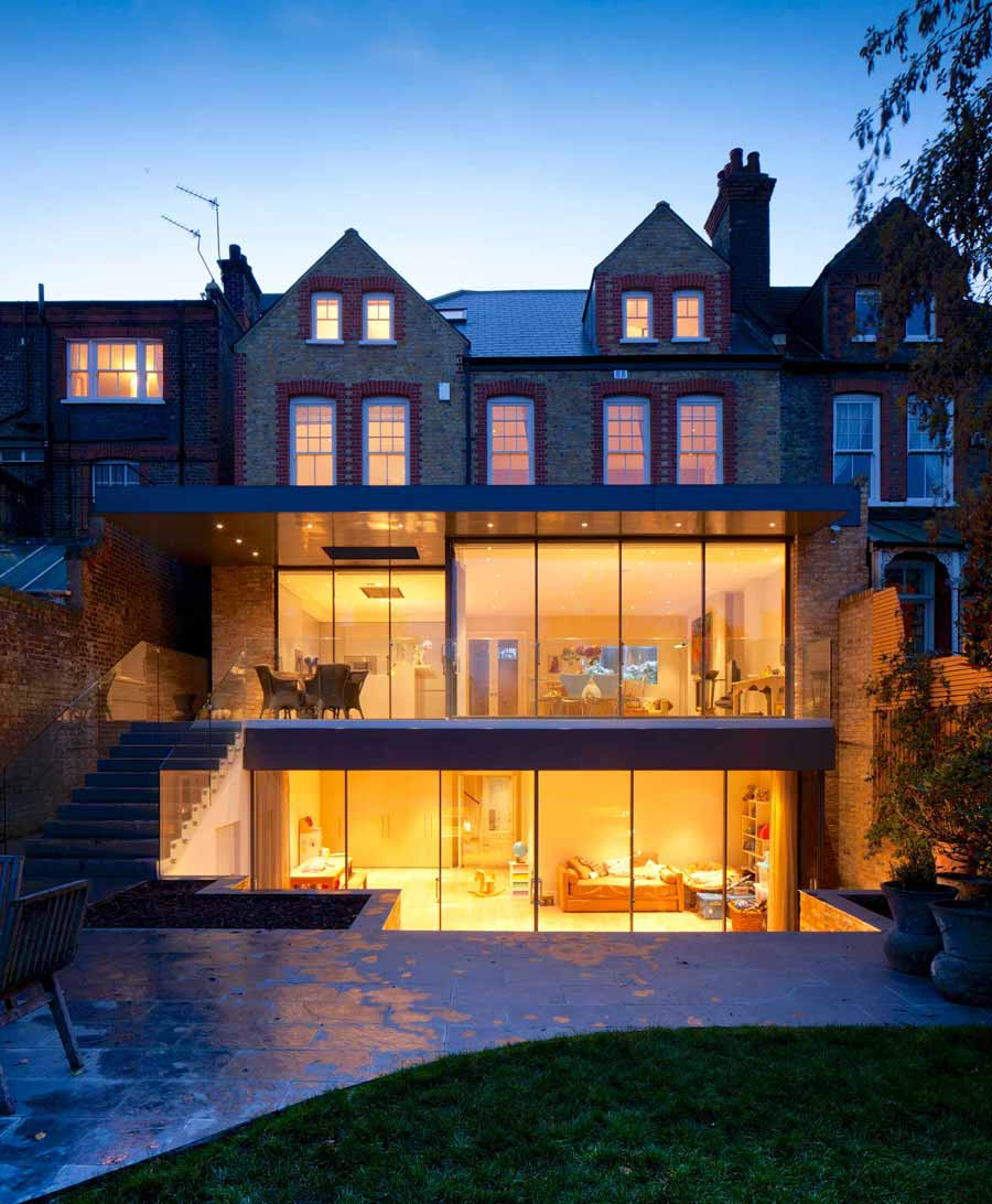 Bolingbroke Grove Wandsworth 2-Storey Extension, New Basement And Full Refurbishment 04