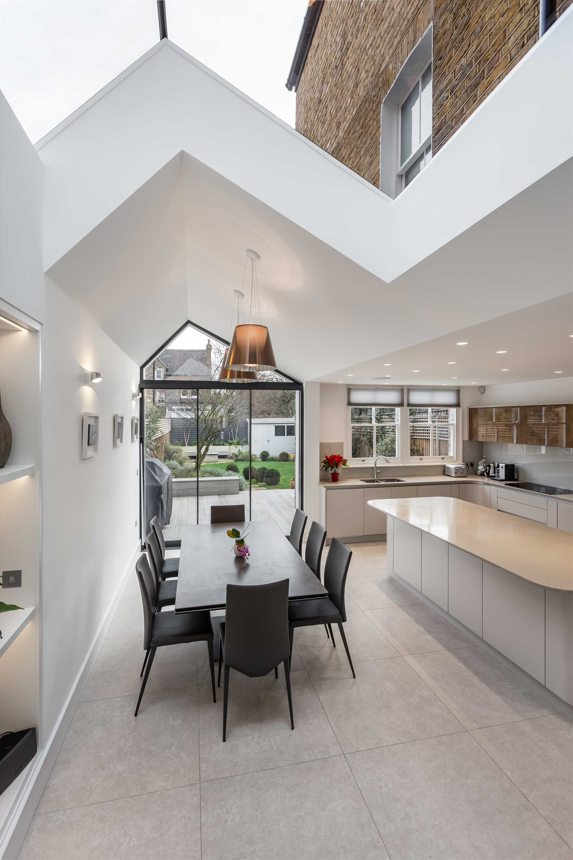 Nicosia Road Wandsworth Kitchen Extension, Whole House Refurbishment and New Basement 12