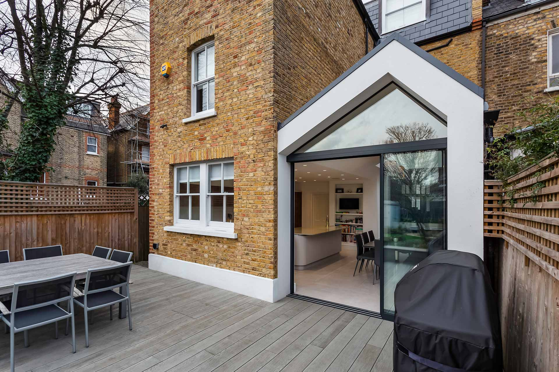 Nicosia Road Wandsworth Kitchen Extension, Whole House Refurbishment and New Basement 11