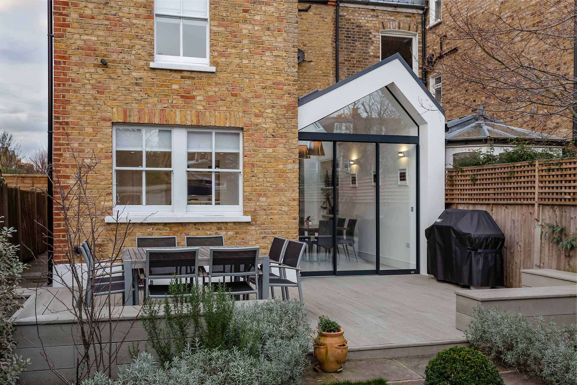 Nicosia Road Wandsworth Kitchen Extension, Whole House Refurbishment and New Basement 01