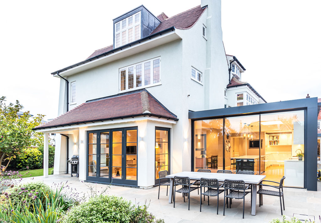 Belverdere Avenue  Wimbledon Village Single Storey Extension And Full Refurbishment 15