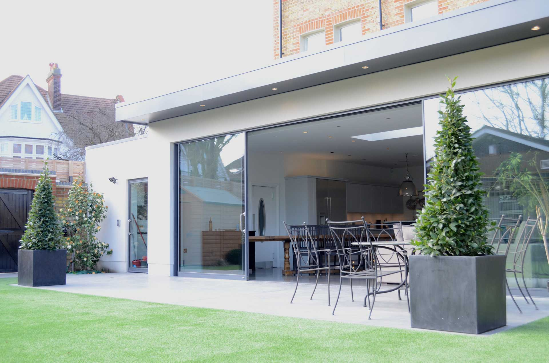 Routh Road Wandsworth 3-Storey Side Extension, Rear Extension and Refurbishment 02